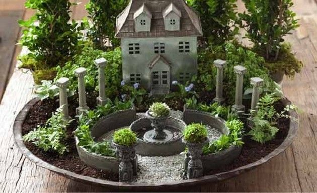 11 Beautiful DIY Fairy Gardens | Crafty Me