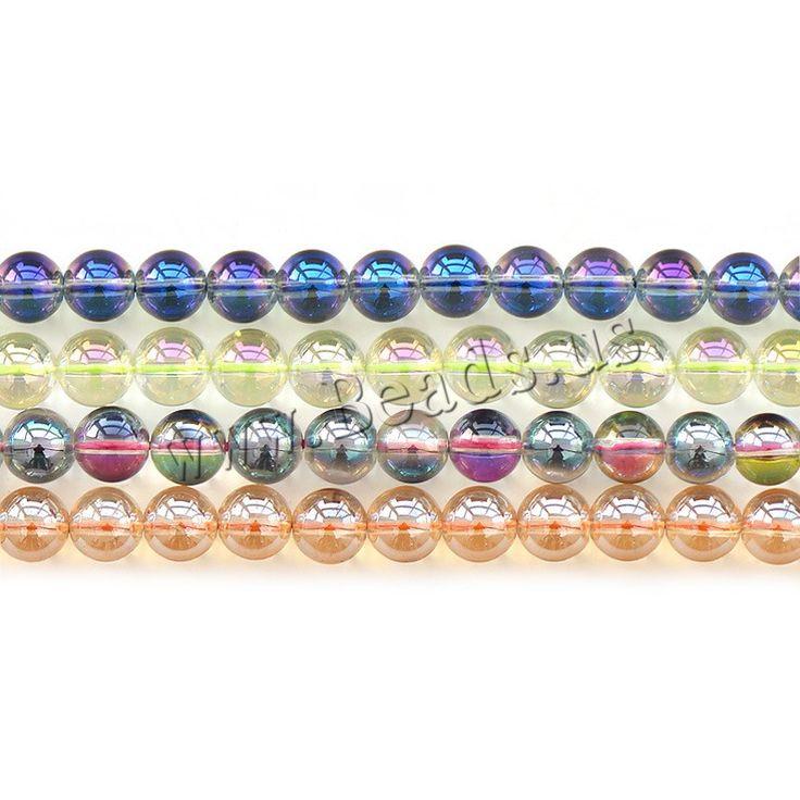 Natural Quartz Jewelry Beads, Round
