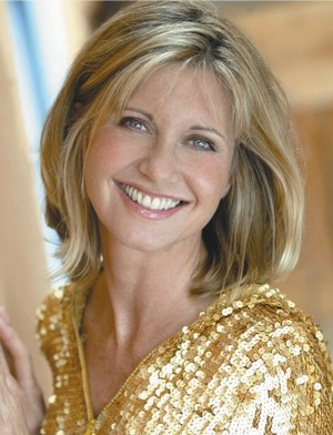 I love Olivia Newton-John's shoulder length bob.
