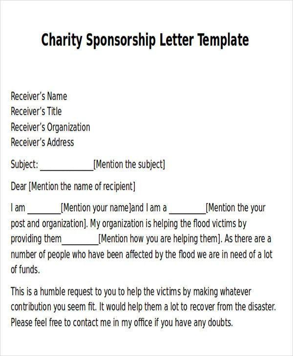 Image result for charity event proposal letter sample | value