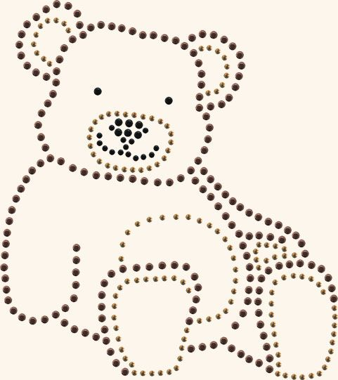 Buy Transfers Bear at reasonable cost from Blingcityusa.com. Find more transfers - all products in different color and size. We have all types of crystals and transfers available.      #Transfers_ALL, #Transfers, #Crystals_and_Transfers