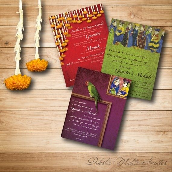 22 best wedding cards images – Indian Wedding Card Ideas