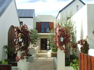 French Style Architecure House Plan South Africa