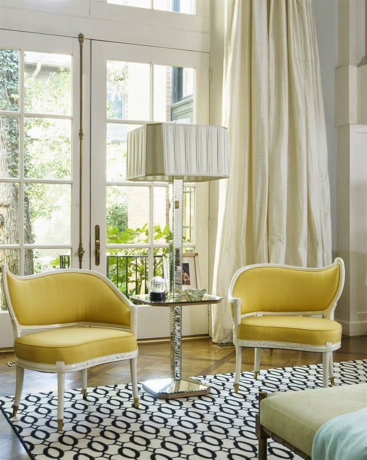 yellow chairs living room jan showers regency asymetrical chairs silk 12617