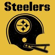 Pittsburgh Steelers Helmet Vintage t Shirt Throwback Tee Shirt