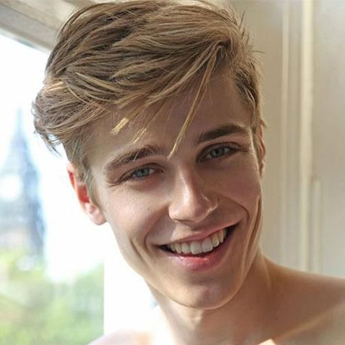 Blonde Boys Hairstyles 1000 Ideas About Boy Haircuts On: 11 Coolest College Hairstyles You Can Try