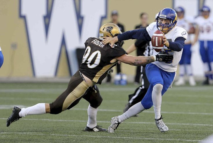 University of Manitoba Bisons defensive lineman Evan Foster