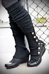 i adore legwarmers...but these little brass buttons push me over the edge! $15.00