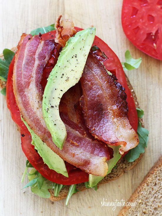 BLT with Avocado | Skinnytaste Avocado makes everything better!