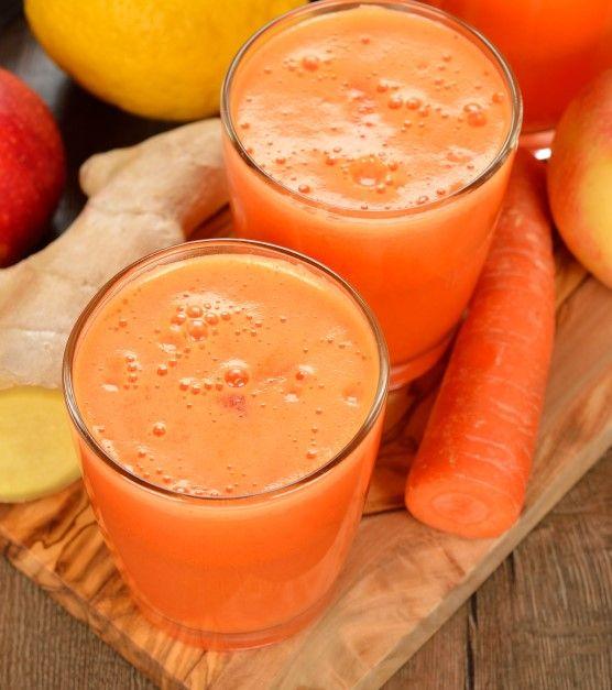 #Ginger #Carrots #juice