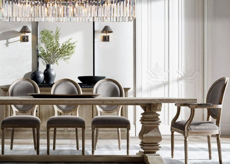 Lovely The Most Sophisticated Dining Room Furniture By Restoration Hardware