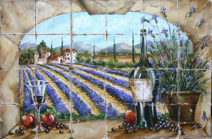 Mediterranean Tile Murals