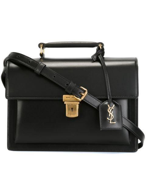 쇼핑 Saint Laurent 'High School' 미디엄 사첼 백 in  from the world's best independent boutiques at farfetch.com. 전 세계 400여 곳의 패션 부티크를 한 웹사이트에서 쇼핑하세요..
