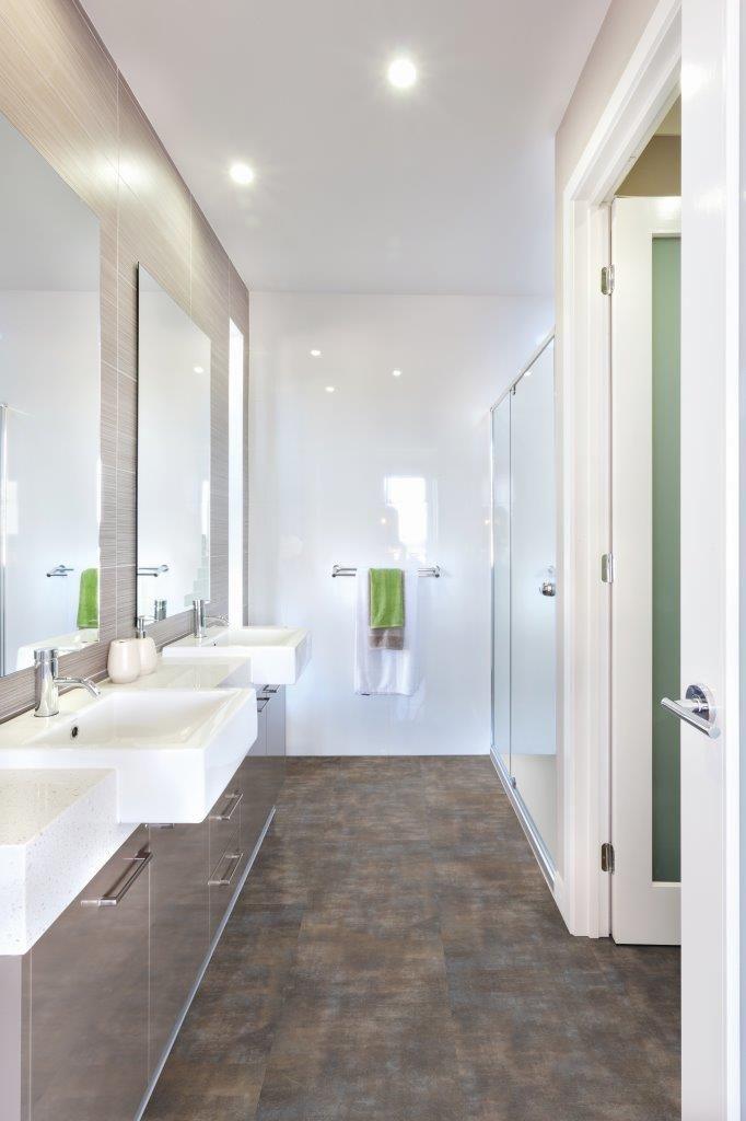 Sly Bathroom Floor Ideas Golden Rost Badezimmer Vinyl Vinylboden Bodenbelag Fur Badezimmer