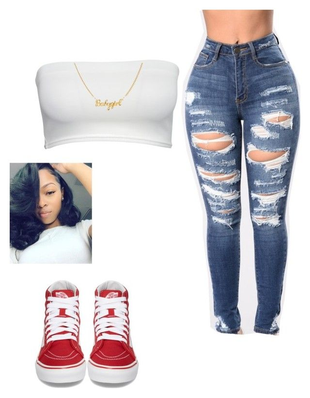 """""""❤️"""" by lanadabest on Polyvore featuring Vans"""