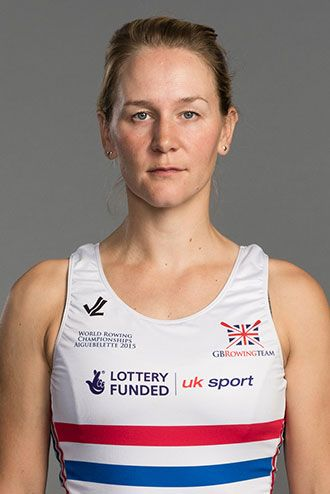 Katie Greves - Rowing. - Women's eight.