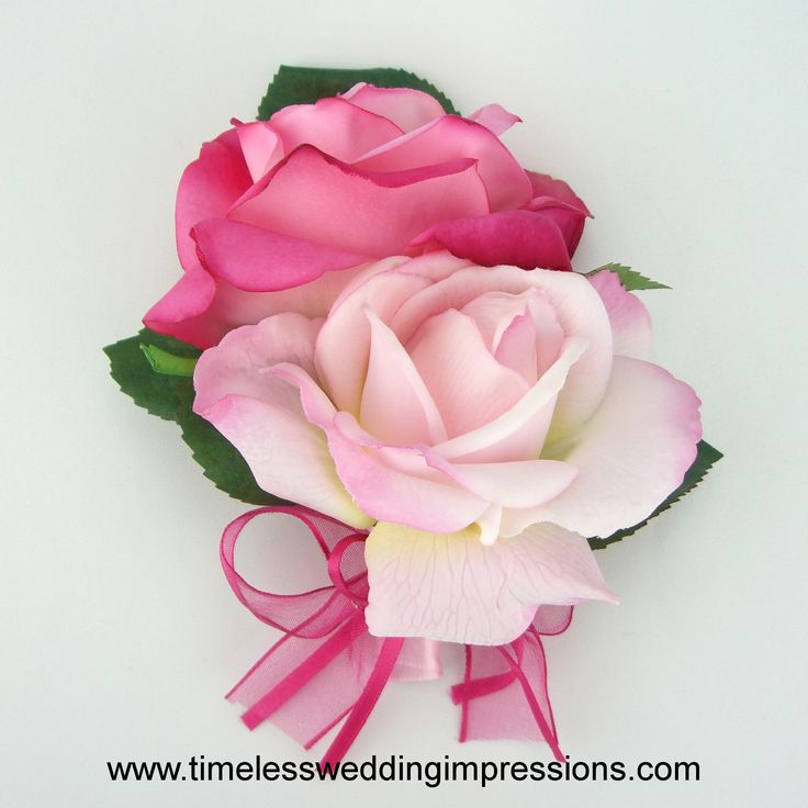 silk flower for weddings roses corsage real touch silk wedding flowers pictured with hot