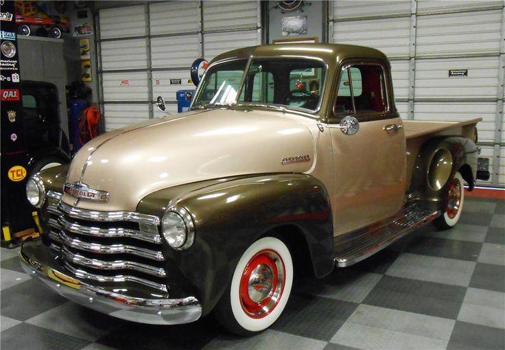 1952 CHEVROLET 3100 PICKUP - Barrett-Jackson Auction Company