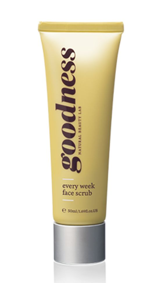 every week face scrub