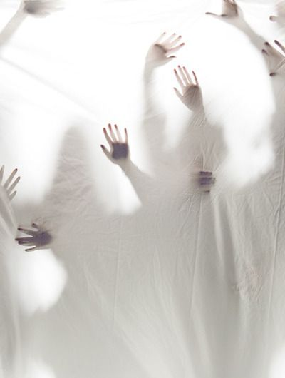 hands ♥ I know to some people this may be disturbing, but I see it as the Saints of God rejoicing at His return!