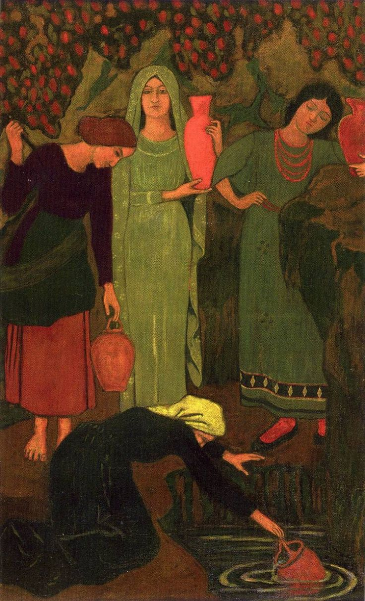The Athenaeum - The Wait at the Well (Paul Serusier - )