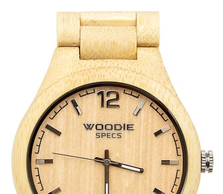 100% Handmade Wood Watch Made From Bamboo Wood - via DTLL.