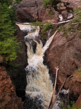 #Copper Falls in Wisconsin  #Travel Wisconsin USA multicityworldtravel.com We cover the world over 220 countries, 26 languages and 120 currencies Hotel and Flight deals.guarantee the best price