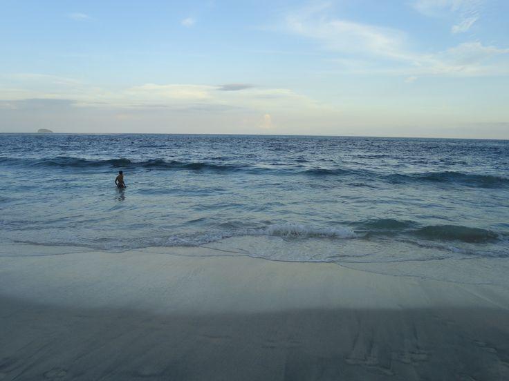 super private beach in padangbay harbour bali
