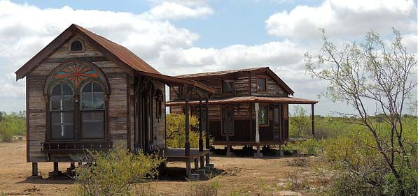 Tiny Texas Houses, explains a wide range of subject matter relating to the salvage world and how to be successful in it.