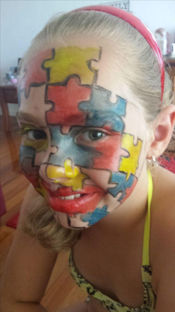 Jigsaw face