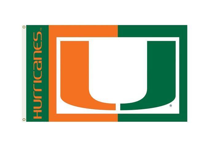Miami Hurricanes Flag 3x5 Z157-1588995031
