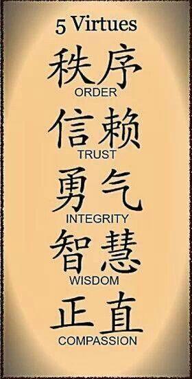 5 Virtues
