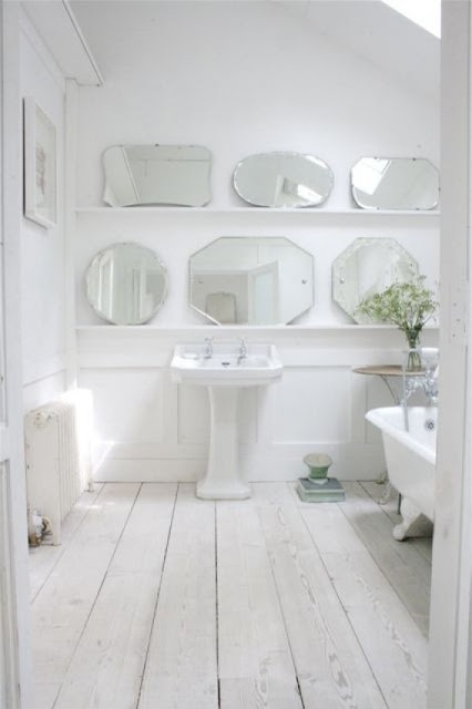 A beautiful converted barn in white   via myscandinavianhome blogspot com. 17 Best images about Bathroom Inspiration on Pinterest   Clawfoot