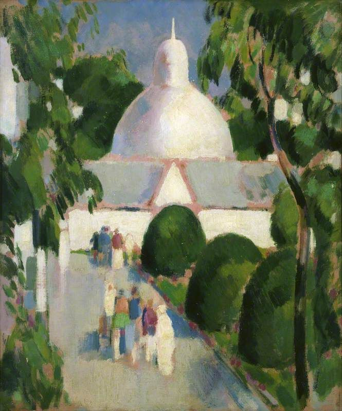 The Dome, Botanic Gardens, Glasgow  , by John Duncan Fergusson ,1953