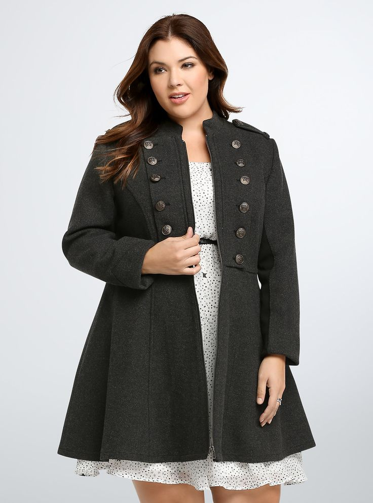 Long Military Coat - $108.50 (@ Torrid)