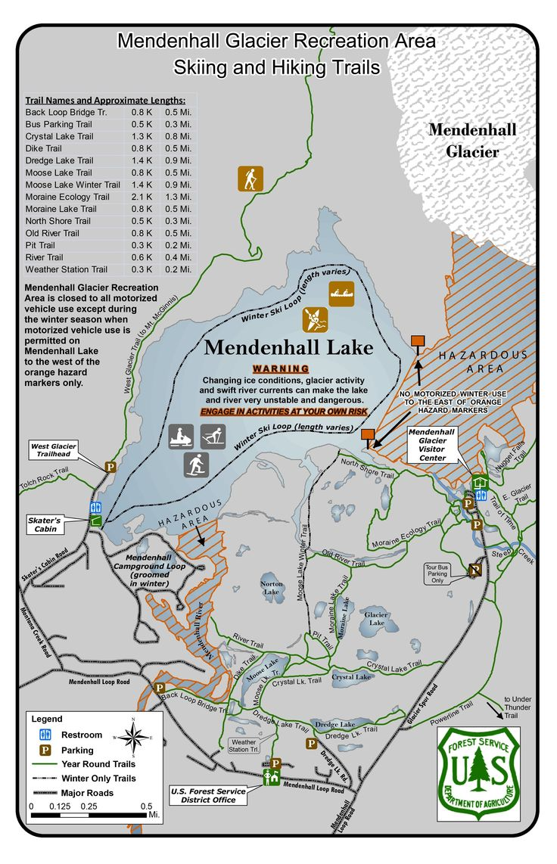 mendenhall glacier recreation area skiing and hiking trails color alaska cruise scrapbook. Black Bedroom Furniture Sets. Home Design Ideas