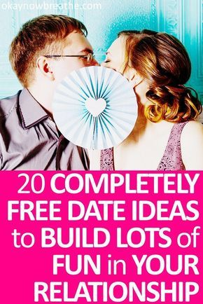 Whether you're going on a first day or celebrating your wedding anniversary, a date can be completely memorable and free. These quality time dates are fun. #relationships #dating #marriage