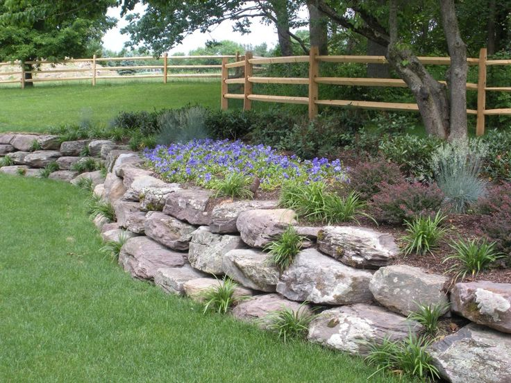 Best Boulder Retaining Wall Ideas On Pinterest Rock Wall