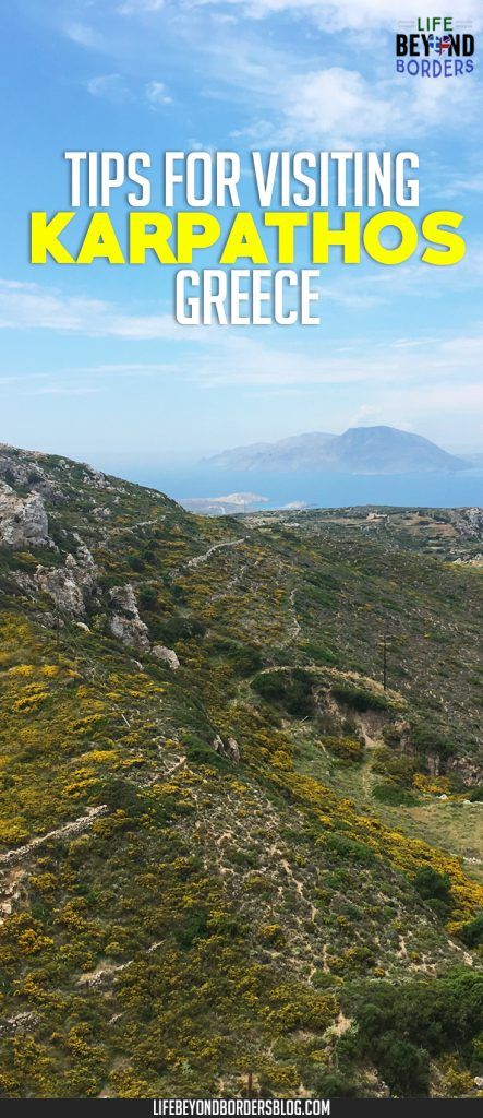 Tips for where to go when visiting Karpathos island in Greece