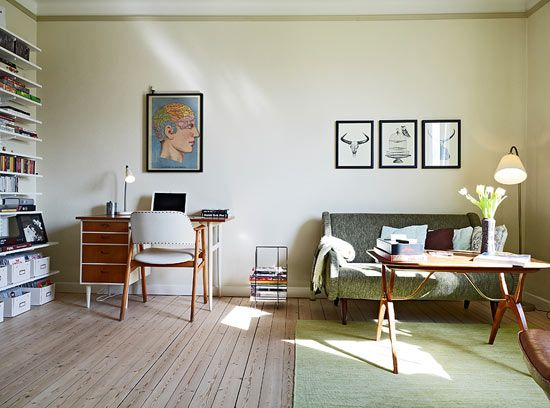 Swedish studio apartment - View 1