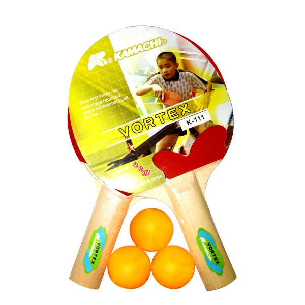 Speed Up Kamachi Table Tennis Set - Set of 2 Pcs Table Tennis Bats & 3 Pcs Table Tennis Balls — A very nice game for friends, just keep it in your bag and play for a while with your friends in your free time. Completely refreshing game for all ages.Pcs Tables, Kamachi Tables, Complete Refreshing, Tables Tennis, Free Time, Nice Games, Refreshing Games, Tennis Bats, Tennis Ball
