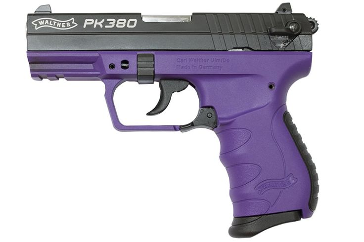 WALTHER PK380 380 ACP BLACK AND PURPLE Find our speedloader now! http://www.amazon.com/shops/raeind