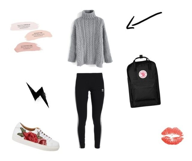"""Casual #5"" by joy-beltman on Polyvore featuring mode, adidas Originals, Chicwish en Fjällräven"