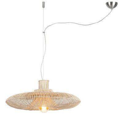 Suspension Good&Mojo Kalahari Large / Osier - Ø 70 cm Ø 70 cm / Rotin - It's about Romi - Décoration et mobilier design avec Made in Design