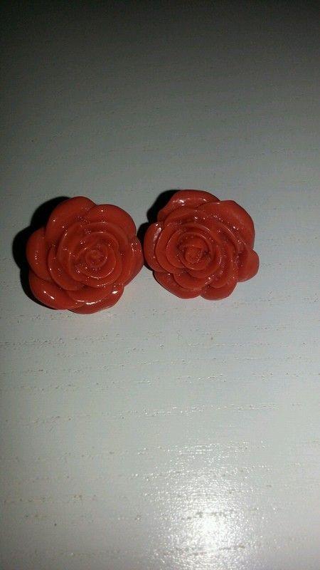 Ohrringe Stecker Rosen Blume