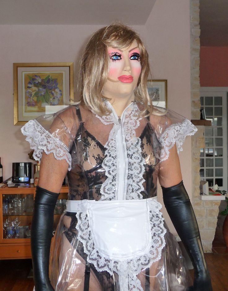 Plastic maid;s dress from Misfitz