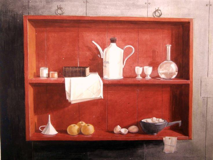 Rode kast (die van Henk Helmantel is veel mooier hoor)