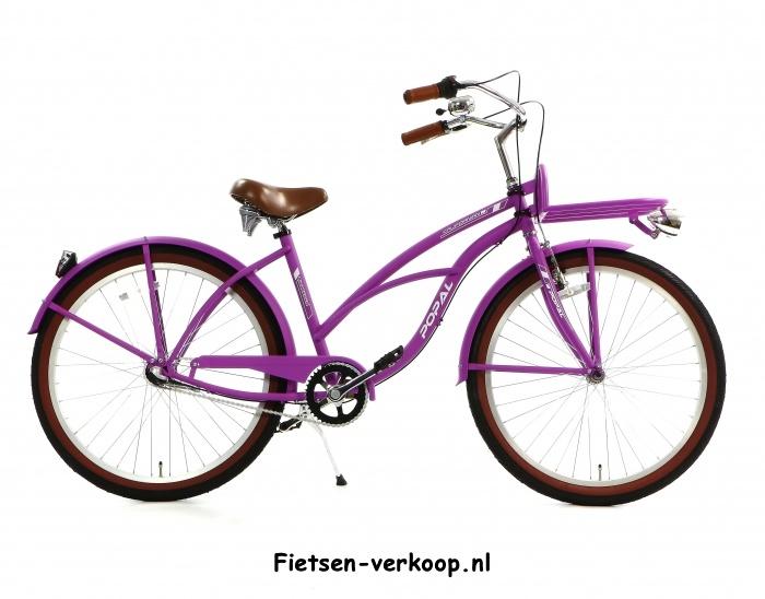 Damesfiets Californian Violet 26 Inch | bestel gemakkelijk online op Fietsen-verkoop.nl