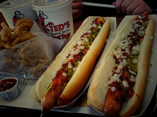 Ted's Hot Dogs is a Western New York fixture. Get a charbroiled footlong with everything on it, add a side of onion rings (absolutely homemade) and don't forget your loganberry soft drink!