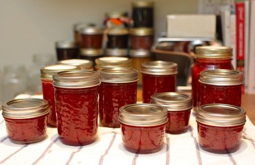 In Which I Scratch a Canning Itch (Recipe: Honey Strawberry Jam)